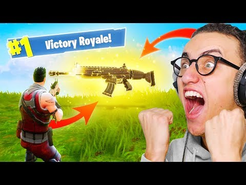 MOST POWERFUL GUN EVER in Fortnite: Battle Royale!