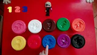 Pj Masks ita _Lunetta insegna numeri e colori| Learn colors & numbers with toys, toys for childer
