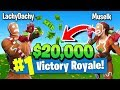 Lachlan & Muselk Trying To Win $20k In Fortnite Battle Royale (Tournament Highlights)