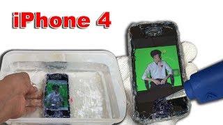 Thử Dán Tất Cả Khe Hở Thả iPhone 4 Xuống Nước ( iPhone 4 Waterproof )