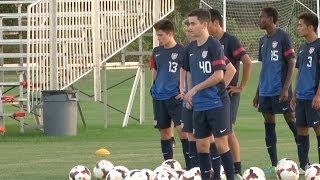 U-17 MNT Ready for Nike International Friendlies in Florida