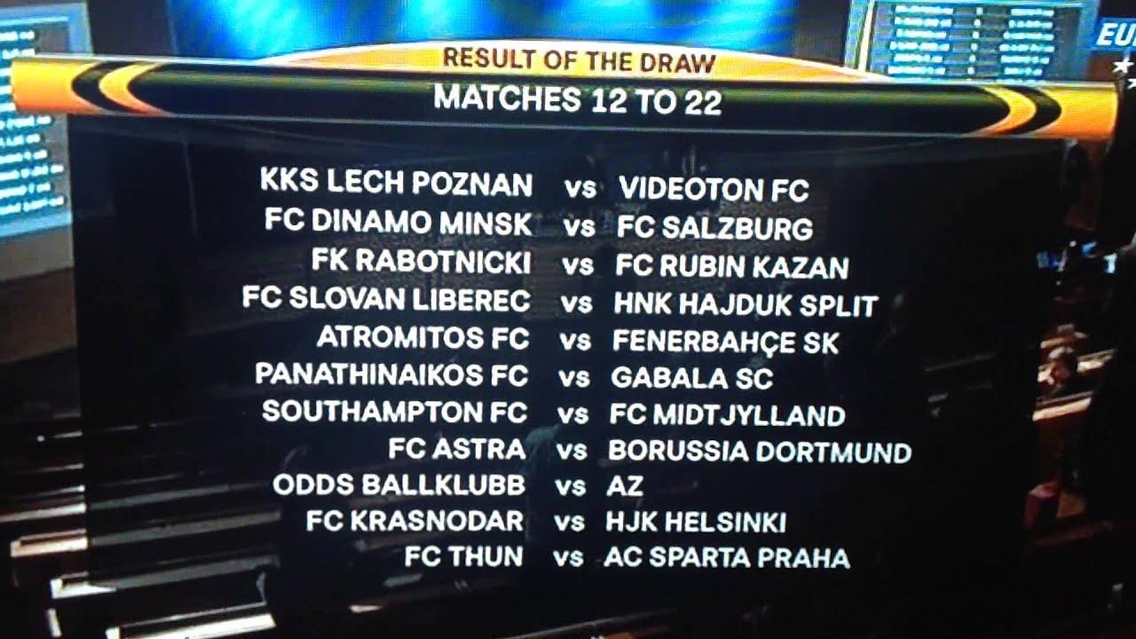 Europa League Playoffs
