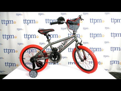 7215a7649da 18 Inch Hot Wheels Bike from Dynacraft - YouTube
