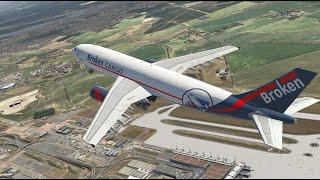 Airbus A300. Новая модель для X-Plane.