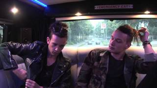 The 1975 interview - Matthew Healy and George Daniel (part 1)