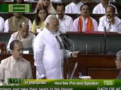 PM Shri Narendra Modi takes oath as Member of the 16th Lok Sabha. Mp3