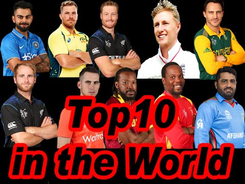 ICC World T20 Rankings Top10 in the World 2016,Top 10 Inspirational Cricketer of All Time 10 Batsmen