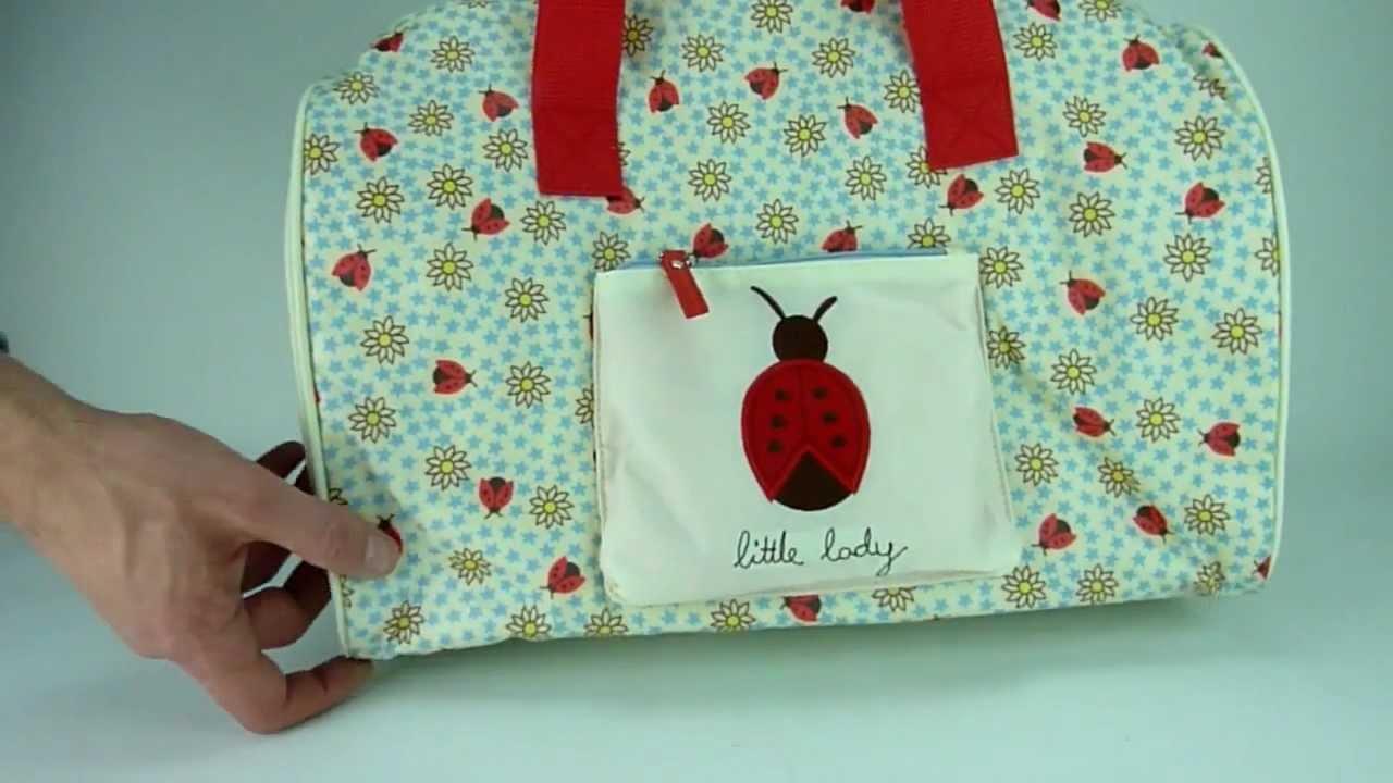 pink lining kinder reisetasche overnigt bag kids kollektion 2012 youtube. Black Bedroom Furniture Sets. Home Design Ideas