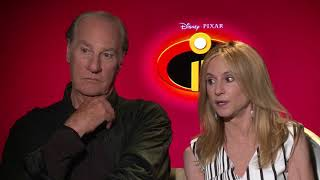 Incredibles 2 Interview with director Brad Bird and Star Craig T. Nelson and Holly Hunter