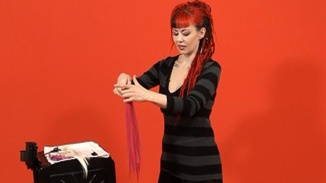 How To Shuffle Synthetic Hair Extension Fiber Doctoredlocks