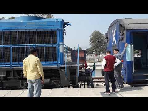 Loco Shunting & Coupling || Indian Railways