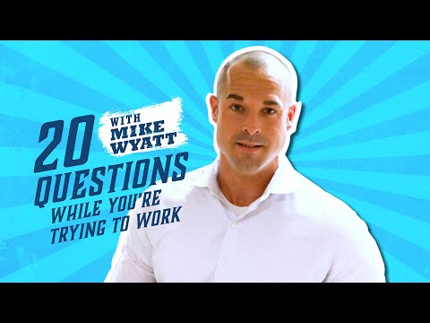 20 Q's While You're Trying to Work: Mike Wyatt