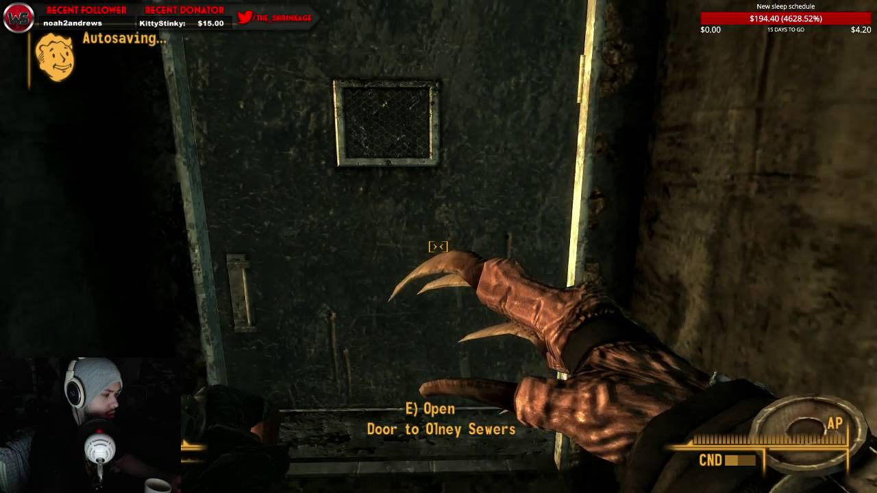 sex system  fallout 3