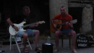 Hey Joe by Jürgen and Michel at Camping Clairette Drome France.flv