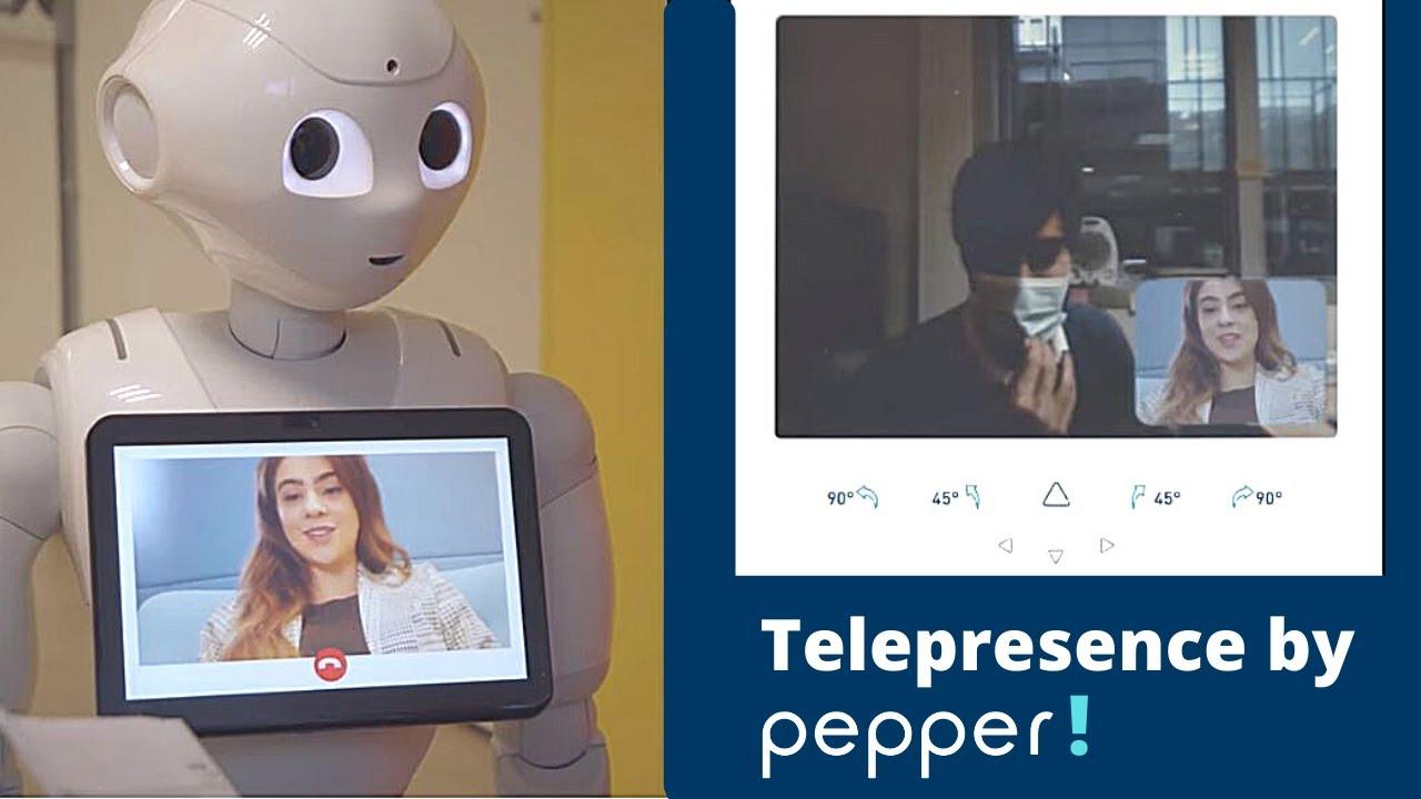 Telepresence by Pepper