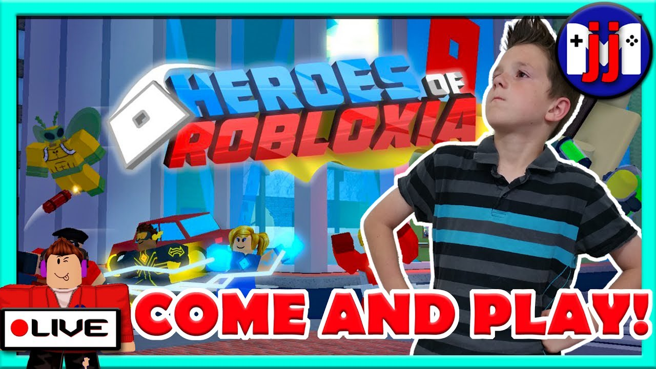 Lil Jojo Roblox Id: I'm SOOOO Excited To Play HEROES OF ROBLOXIA!! Come Play