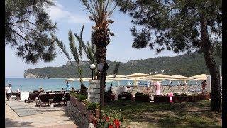 Пляжи Турции. Пляж с песком в Кемере!