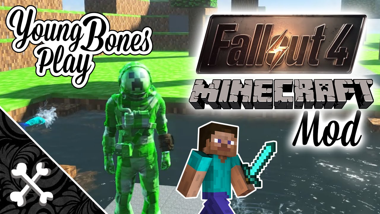 Fallout 4 Minecraft Mod Young Bones Play Minecraft Fo4 V1 Youtube