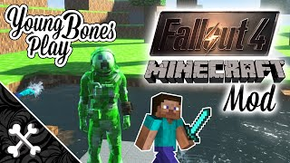 fallout 4 minecraft mod   young bones play minecraft fo4 v1