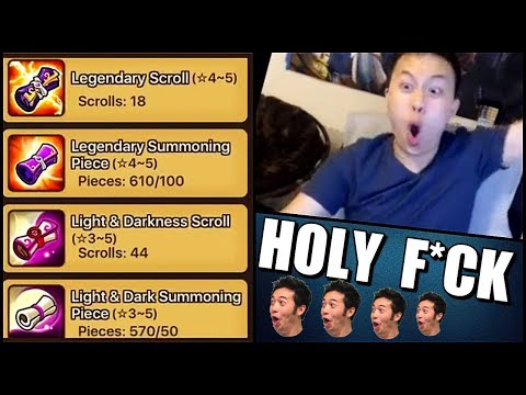 EXTREME Amount of Premium Scrolls! - Summoners War - August Stream