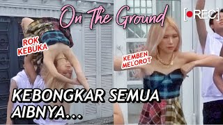 [Behind The Scene] ROSÉ - ON THE GROUND COVER BY NATYA SHINA INVASION DC | Step by Step ID