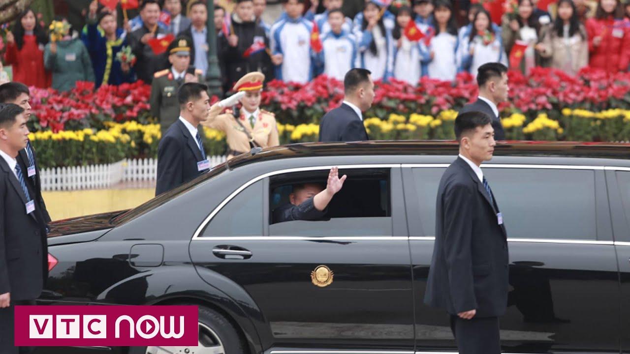 Chủ tịch Triều Tiên Kim Jong-un tới Hà Nội