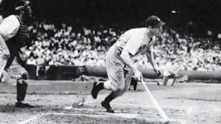 JOE DiMAGGIO TALKS ABOUT HIS 56-GAME HITTING STREAK AND HOW IT ENDED