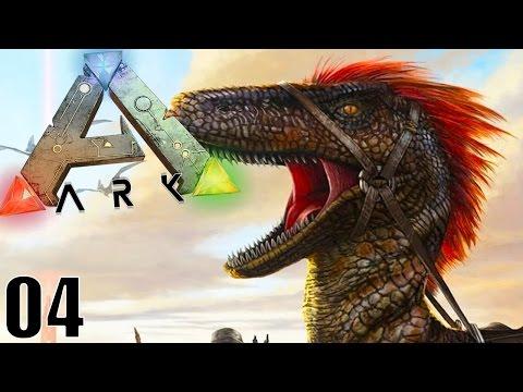 MON 1ER DINOSAURE APPRIVOISÉ ! | ARK: Survival Evolved ! #Ep4