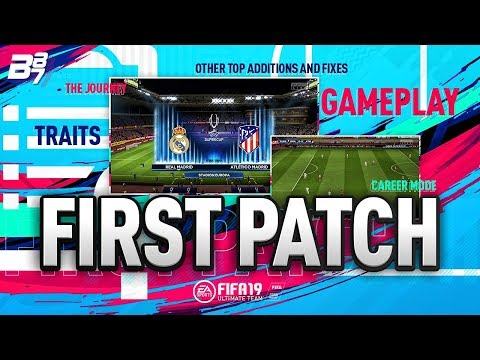 THE FIRST PATCH w/ FUT CHAMPIONS REWARDS INFO! | FIFA 19 ULTIMATE TEAM