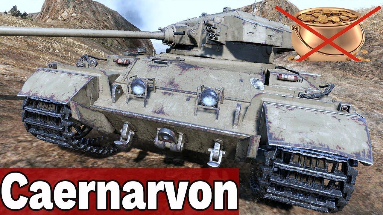 KOZAK BEZ ZŁOTA! – CAERNARVON – World of Tanks