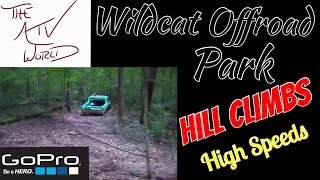 Wildcat Offroad Park - Gopro With Some High Speed Trail Riding & Hill Climbing