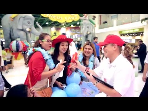 KitKat Mini Moments - digital activation at landmark mall, Doha, Qatar