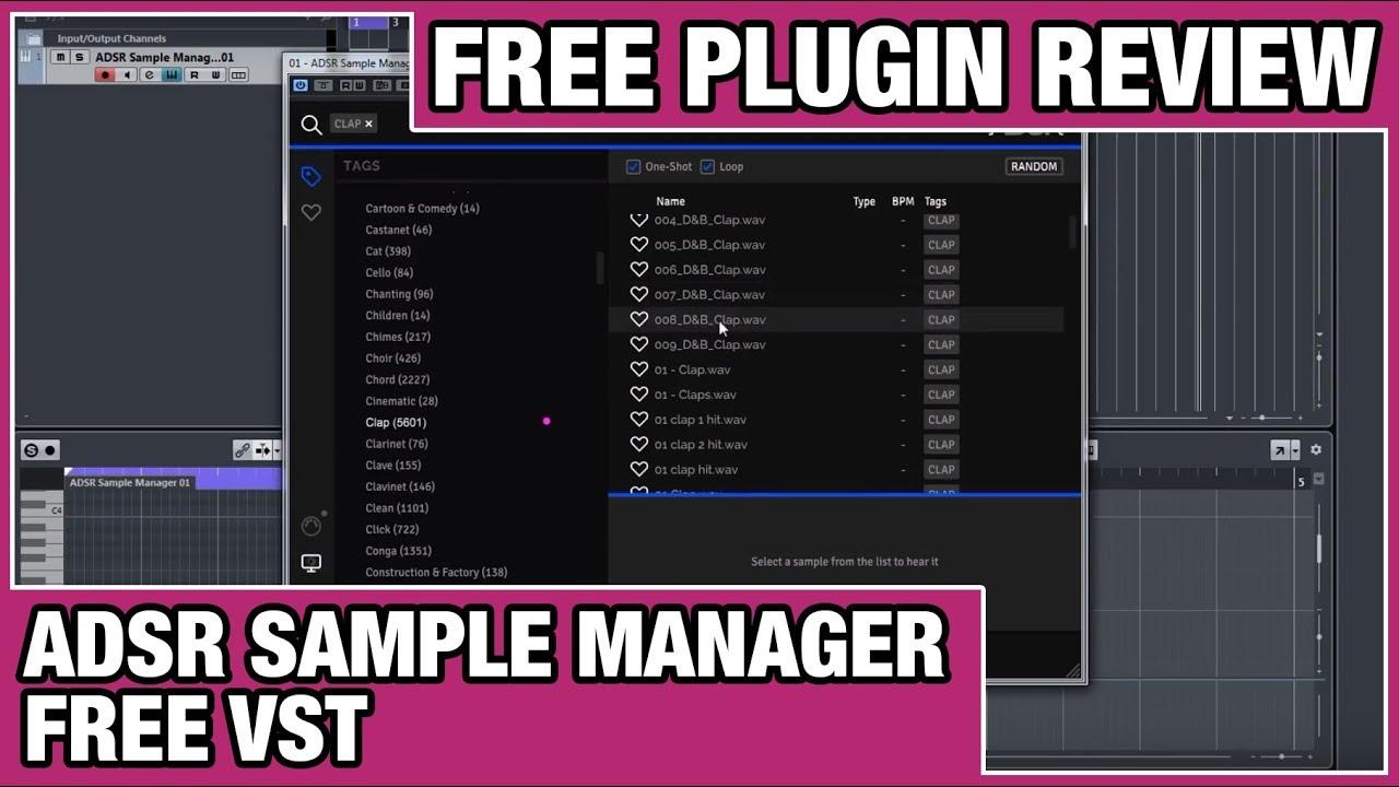 ADSR - Sample Manager Review (Free VST Instrument)