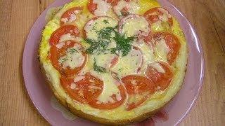 Пицца на сковороде - видео рецепт(Видео рецепт приготовления пиццы на сковороде Цептер. Вкусно, быстро и удобно. Подписка на новые рецепты:..., 2009-10-21T05:40:14.000Z)