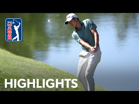 Collin Morikawa shoots 7-under 65 | Round 2 | THE CJ CUP 2020