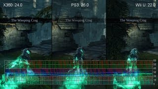 Darksiders 2 Wii U/ps3/xbox 360 Gameplay Frame Rate Tests