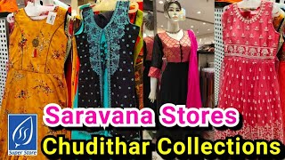 Chrompet Saravana Stores Chudithar Collections || Chudithars from Rs.500