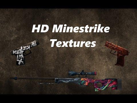 New HD Minestrike Texture Pack