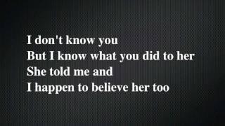 The Fray- We Build Then We Break (with lyrics)