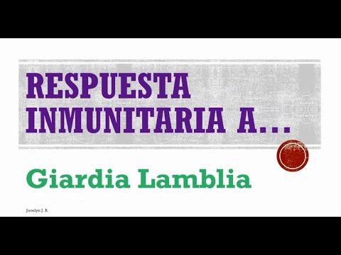 Respuesta Inmune a Giardia Lamblia