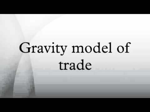Gravity model of trade