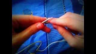 """Урок №2 Вязание спицами """"Лицевые петли"""""""