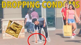 DROPPING CONDOMS IN PUBLIC