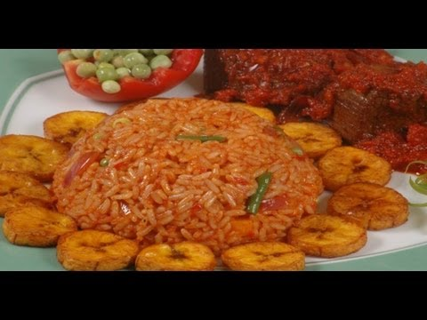 How To Prepare Jollof Rice Ghana Style Youtube