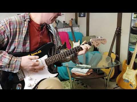 Hard Rock Squier Strat