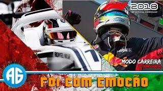 F1 2018 CARREIRA - CLASSIFICAÇÃO EMOCIONANTE  NA ITÁLIA (Português-BR) 1080 60