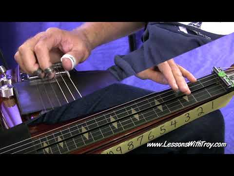 Blues Grooves - Open G - Lap Steel or Dobro