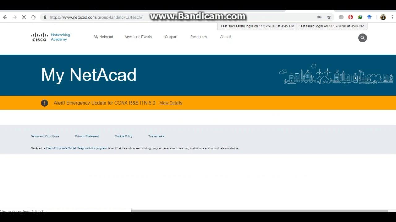 Cara membuka soal sertifikasi CCNA cisco - YouTube