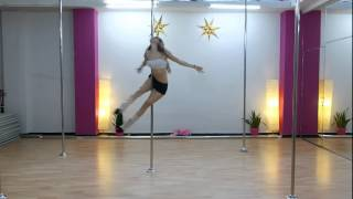 Pole Art Routine 62 - Level 4 (Sia - Chandelier)