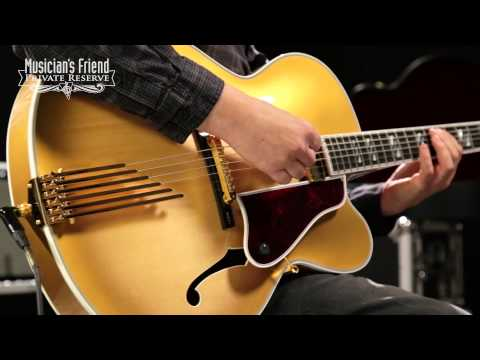 Gibson Custom Le Grand Hollowbody Electric Guitar Golden Burst